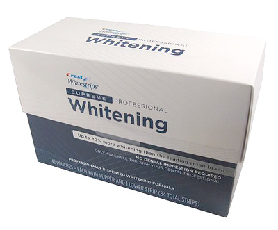 Crest 3dwhite Whitestrips prefessional effects